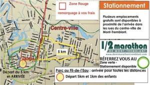 Stationnement-Site Rassemblement